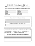 Student Lead Conference Survey Printable