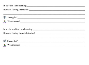Student Lead Parent Conference Forms
