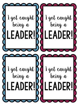 Student Leader, Teacher Helper, and Tech Guru Tags
