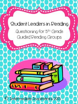 Student Leaders in Guided Reading Groups 5th grade