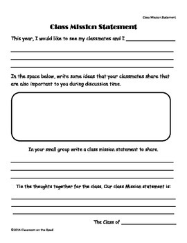 Student Leadership Activity Pages