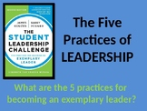 Student Leadership Challenge: The 5 Practices Power point