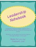 Student Leadership Notebook