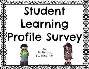 Student Learning Profile Survey