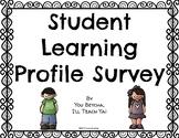 Student Learning Profile Survey