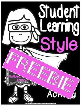 Student Learning Style Poster Freebie