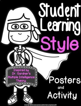 Student Learning Style Posters and Printables