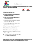 Student Learning Styles Survey