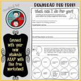 Student Learning Worksheet - Back to School Essential!