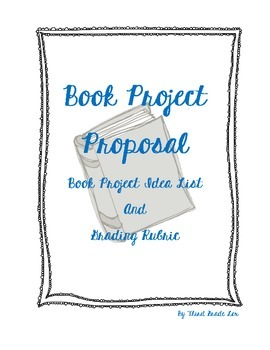 Student-Led Book Project and Rubric
