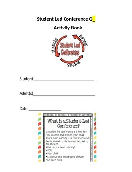 Student Led Conference Activity Book