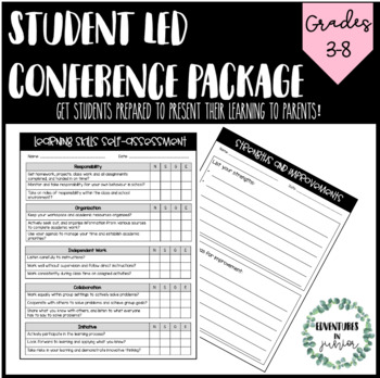 Student Led Conference Package