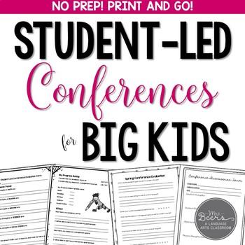 Student-Led Conferences for BIG KIDS Bundle: Grades 4-8