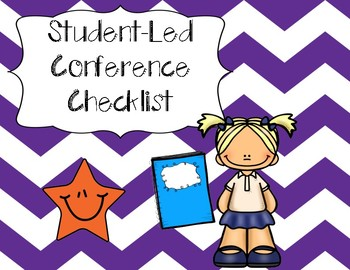 Student-Led Conference Checklist