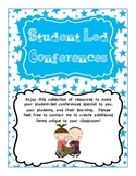 Student Led Conference Data Binder for Parent Conferences