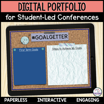 Student Led Conference Digital Portfolio