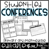 Editable Student-Led Conference Forms