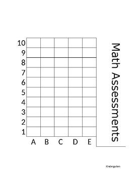 Student Data Sheets (Kindergarten)
