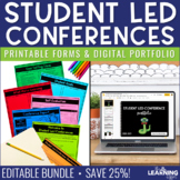 Student Led Conference Forms   Editable