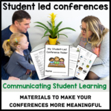 Student Led Conference Materials