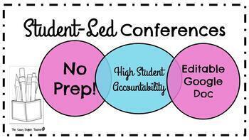 Student-Led Conference: No Prep. Setup!