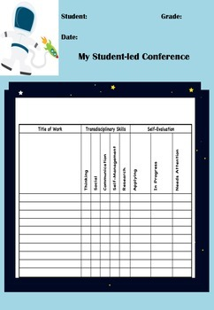 Student-Led Conference Organizer