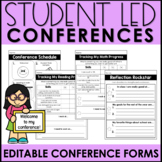 Student Led Conference Pack EDITABLE