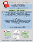Student Led Conference Planning Template and Invite