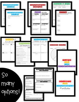 Student Led Conference Portfolio {Digital Google Classroom & Printable Versions}