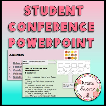 Student Led Conference Powerpoint FREE