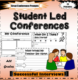 Student Led Conference Printables
