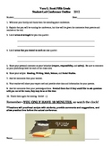 Student-Led Conference Script Fifth or Sixth Grade