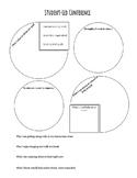 Student Led Conference Sheet