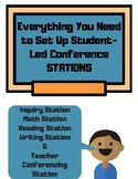 Student-Led Conference Stations: Teacher Guide