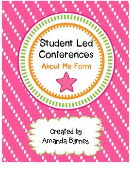 Student Led Conferences (About Me Form)