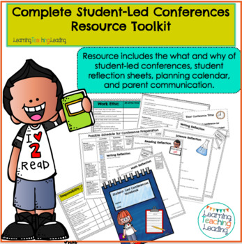 Student-Led Conferences Complete Resources Kit 3rd, 4th, 5th, 6th