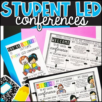 Student Led Conferences: Editable