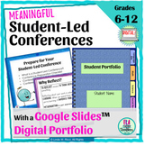 Student Led Conferences: Goals, Reflections, and Portfolios for Google Drive™