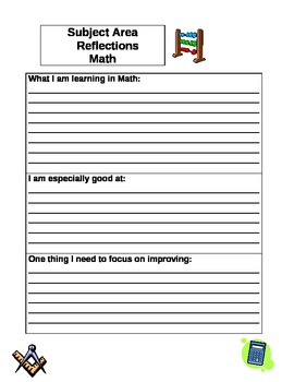 Student-Led Conferences Pack (Academic Focus Pages and a Skill Checklist)