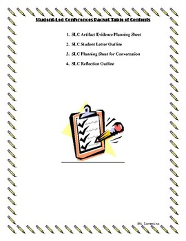 Student-Led Conferences Packet