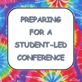 Student-Led Conferences Packet Editable