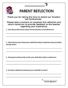 Student Led Conferences Parent Survey