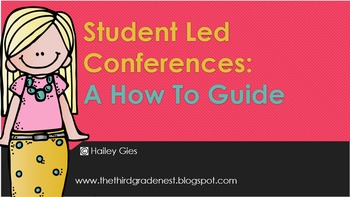 Student Led Conferences Reflection Pack