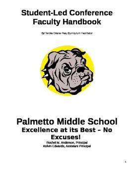 Student Led Conferences Sample Handbook