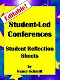 Student Led Conference Forms-Editable