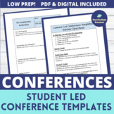 Student Led Conferences Templates