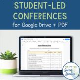 Student-Led Conferences Templates For Google Drive + PDF