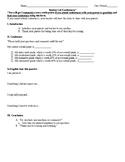 Student Led Conferences Worksheet