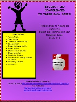 Student-Led Conferences for Elementary - Guide for Planning & Implementing