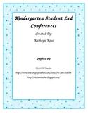 Student Led Conferences for Kindergarten